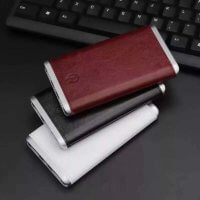 FAUX-Leather Triple-Power-Bank-H-083 Promo Page