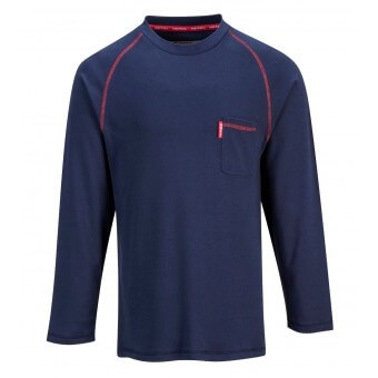 Flame Resistant Crew Neck Shirt
