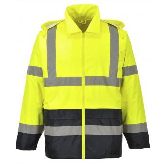 Hi Vis Classic Contrast Rain Jacket, Class 3