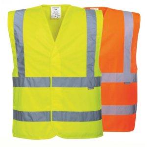 Hi-Vis Two Band & Brace Vest, PC470