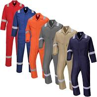 PC814-Cotton-coveralls-w-reflective-tape