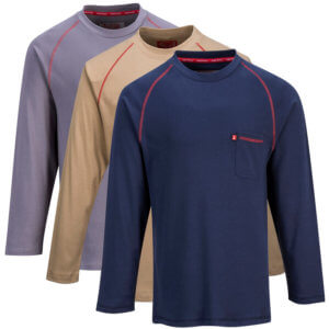 Flame Resistant Crew Neck T-Shirt, PFR01