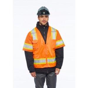 Aurora Sleeved Hi-Vis Vest, Class 3, PS373