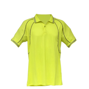 High Visibility Reflective Piping Polo Shirt