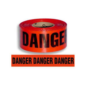 Danger Barricade Tape 1000 ft Roll