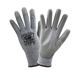 713DGU Gray Palm Cut Resistant HPPe Gloves