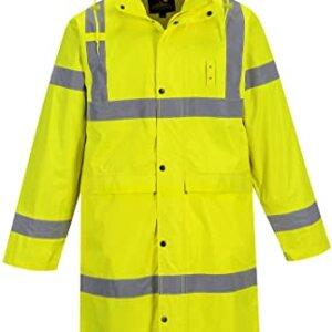 Hi Vis Classic Rain Coat, 48″, TH445