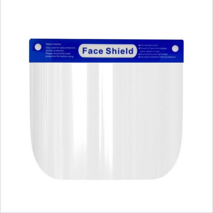 Face Shield Mask Flat