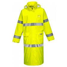 FR Hi Vis Coat, 50″