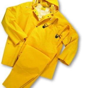West Chester 3-Piece Rain Suit PVC over Polyester Rain Suit